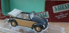 Vitesse n° 410. Volkswagen 1949 Open cabriolet Boîte.