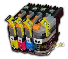 4 LC121 Ink Cartridges For Brother Printer DCP-J152W DCP-J552DW DCP-J752DW