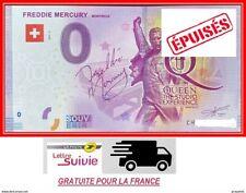 Billet Touristique Souvenir 0 euro - SUISSE - Freddie Mercury Montreux 2019