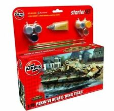 Airfix A55303 King Tiger 1 76 Scale Model Medium Starter Set