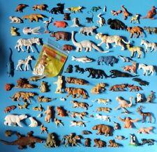 Lot Of 92 Vintage Toy Plastic Zoo Animal Figures