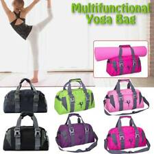 Waterproof Yoga Mat Bag Tote Holder Sports Duffle Carrying Gym Fitness Handbags