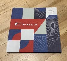Jaguar E-pace Media Book. Rare. Limited Edition. Collectors Item
