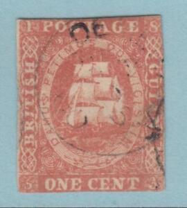 BRITISH GUIANA  SG 16  NO HIDDEN FAULTS WITH CERTIFICATE