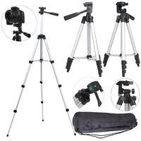 Professional Aluminum 360° Tripod Stand Holder Mount for Canon Nikon DSLR Camera
