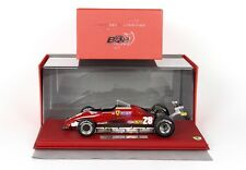 Ferrari 126C2 GP Long Beach 1982 1/18 and race lim. ed 50 pcs D.Pironi P18132BER