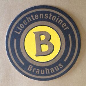 """Beer coaster - Lichtenstein - """"Liechtensteiner Brauhaus"""""""