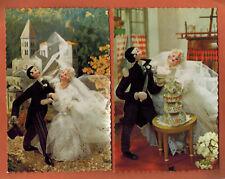 2x Cartes Postales dentelées - Poupées Roldan -  Photochrom - -A.83
