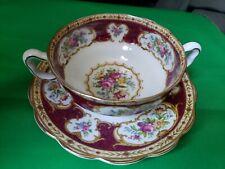 Royal albert lady hamilton Soup Bowl With Handle- 1 Qty