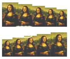 Nail Art Sticker Water Decals Transfer Stickers Mona Lisa (A-829)