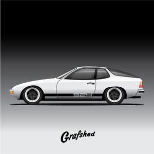 Porsche 924 graphics / decals