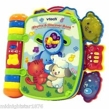 VTech Rhyme & Discover Book Toys Games Baby Vtech Rhyme and Discovery Box Unisex