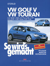 VW GOLF 5 REPARATURANLEITUNG REPARATURBUCH Jetzt helfe ich mir selbst PLUS Buch
