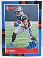 DJ Moore 2018 Panini Instant 1988 Donruss Rated Rookie Retro RC #RR7 - PANTHERS