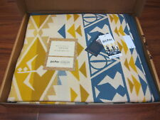 Pendleton Harry Potter HUFFLEPUFF Blanket 64x80 Limited Edition Made in USA!!
