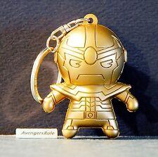 Marvel Secret Wars Collectors Figural Keyring 3 Inch Thanos Gold Exclusive