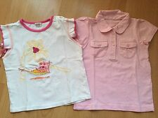 Mädchen Set Aus 2 T-Shirt Gr.86 von H&M Ect Top Zustand!!!