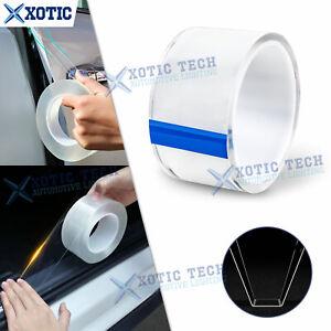 3M Clear Car Door Sill Plate Bumper Protection Film Anti Scratch Strip Sticker