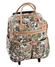 Floral Tapestry Rolling Bag, Multi
