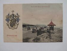 1906 East Cliff Drive Bournemouth Postcard - Hampshire