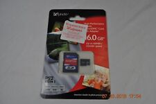 Wphoto MicroSDHC 16GB High Performance Memory Card w/SD Adapter 48MB/s Free S/H