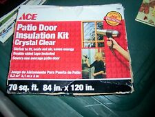 NIB ACE Patio Door Insulation Kit - Crystal Clear