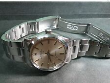 Rolex Oyster Perpetual Airking Silver Dial 34mm Stainless Steel watch