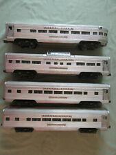 Lionel Passenger Cars: 2531,2532,2533,2354 Silver Dawn, Range, Cloud, Bluff