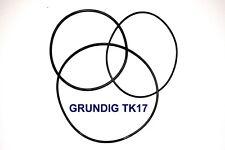 Set COURROIE Grundig tk17 magnétophones machine extra strong fabrickfrisch NEUF tk-17l