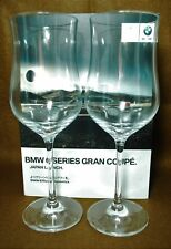 SCHOTT ZWEISEL CRYSTAL WHITE WINE GLASSES - PAIR WITH Box of BMW picture