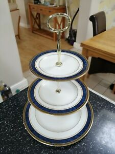 Royal Doulton STANWYCK three tier cake stand - firsts and unused