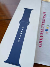 SEALED 100% Genuine BLUE HORIZON 42mm/44mm Sport Band for Apple Watch MTPR2AM/A