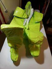 Dupont Tychem Tk Chemical Hazmat Suit Lime Green Size Large