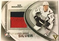 2011-12 ITG Heroes & Prospects Game-Used Jersey Silver Alex Bourret Vault 1/1