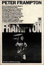 5/4/75PN35 PETER FRAMPTON, FRAMPTON ALBUM ADVERT 7X5 AMLH 64512