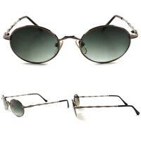 Oval Round Frame Hipster Genuine Vintage Urban 80s Mens Womens Hippie Sunglasses