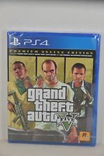 NEW PS4 GTA5 Grand Theft Auto 5 GTAV GTA V (HK Premium Online Edition)