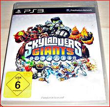 PS3  SKYLANDERS  GIANTS GAME - KOMPLETT IN DEUTSCH UND MULTILINGUAL