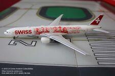 Phoenix Model Swiss International Boeing 777-300ER Swiss Heads  Model 1:400