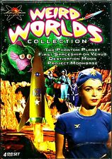 Weird Worlds Collection. 4 Disc Classic Sci-Fi Box. New In Shrink!