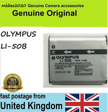 Genuine Li-50B Battery For Olympus Stylus Tough 6020 8010 8000 mju 1010 1020