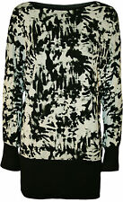 Plus Size Casual Paisley Batwing, Dolman Sleeve Tops & Blouses for Women