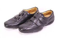 C537 Timberland Sneaker Schuhe Leder schwarz Gr. 40 Klettverschluss ungetragen