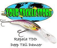 Rapala TDD11 Deep Tail Dancer Pick Colors & Quantity NIP