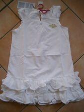(H293) Nolita Pocket Girls Kleid ohne Arm Volants Glitzer Logo Stickerei gr.140