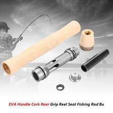 Handle Split Cork Rear Grip Reel Seat Fishing Rod Building Repair Diy Kit Fish