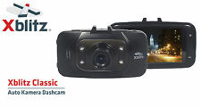 Xblitz Classic Dashcam Telecamera Per Auto Full HD AUTO monitoraggio CAR Blackbox PC CAM