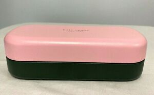 Kate Spade Hello Sunshine Eyeglass Case Hard Shell Pink/Green