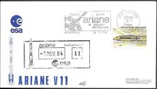 """France Kourou Space Cover 1984. Satellite """"ChinaSat 5R"""" Launch. Ariane V11"""
