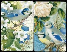 VINTAGE SWAP CARDS PUNCH STUDIO BIRDS BLUE ROBBINS NEW CONDITION